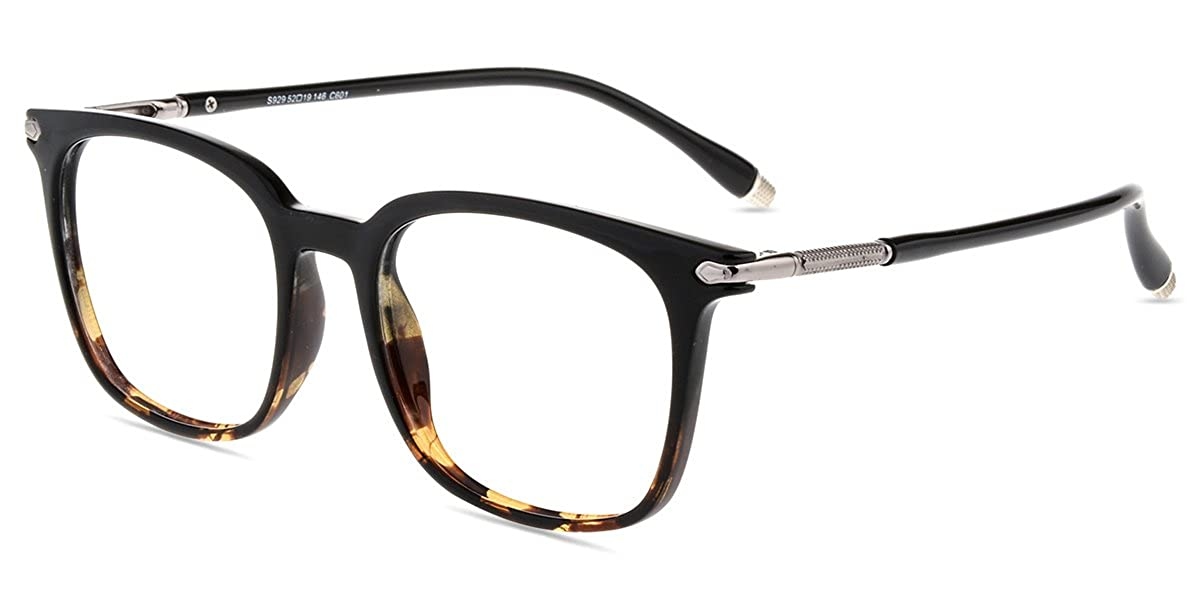 Firmoo New Wayfarer Customized Prescription Glasses Frame Blue Light Blocking Lens Eyeglasses