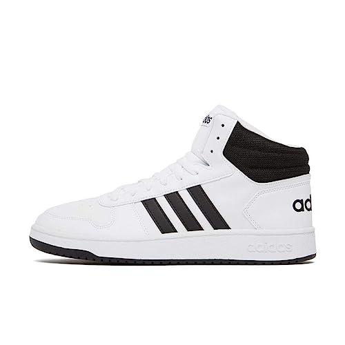 Buy Adidas Men's Hoops 2.0 Mid Ftwwht