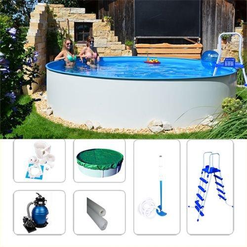 Juego de pared Pool Acero FUN de V-Zon 4, 20 x 1, 20 m Piscina ...