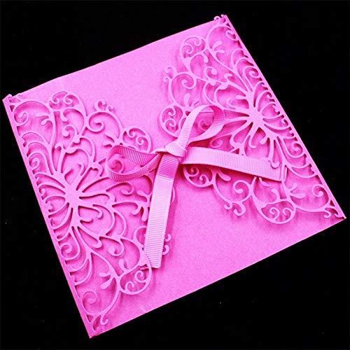 Amazon Com Sala Houseware Creative Invitation Card Lace