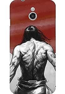 AMEZ designer printed 3d premium high quality back case cover for Infocus M2 (Hi No Maru)