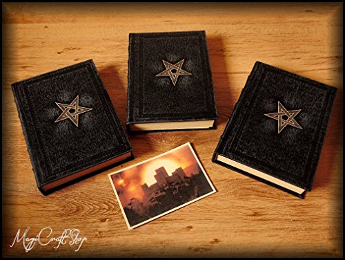 SET Replica NINTH GATE TO THE KINGDOM OF SHADOWS with latin pages - Medium size 22x16 cm - DELUXE VERSION