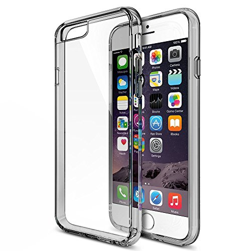 iPhone 6S / 6 Non slip Somke Black case by MTT