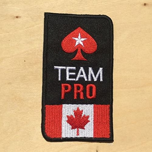 CANADA Pokerstars Au Fr AUS Team PRO Jacket Suit Full Tilt Poker Casino Embroidere d Iron on Patch