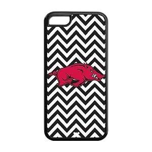 Pink Ladoo? iPhone 5C Case Phone Cover NCAA Arkansas Razorbacks LogoC