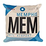 MEM - Airport Code Pillow