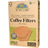 If You Care, Coffee Filters, No. 4 Size, 100 Filters - 2PC