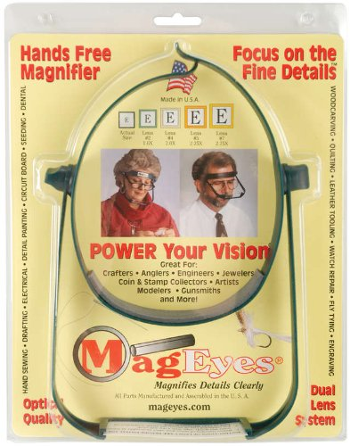 Mag Eyes Magnifier #5 and #7 Lenses ()