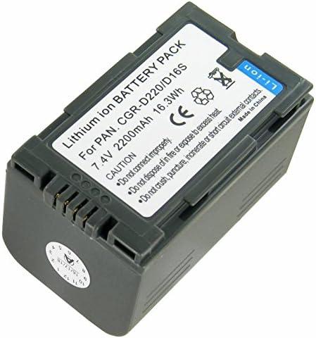 CARICABATTERIE per Panasonic nv-ds28 nv-ds29 nv-ds29eg nv-ds30 nv-ds30eg nv-ds33