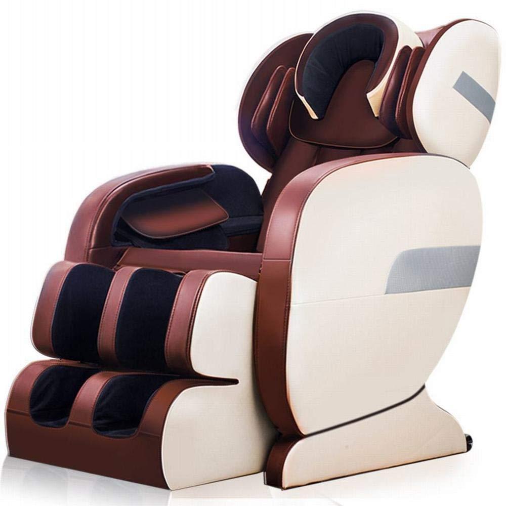 Z&J Origin Home Massage Stuhl Automatische Körper Elektrische Multifunktions Raumkapsel Massager Alten Sofa Stuhl,rot,Einheitsgröße