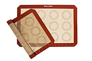 Non-stick Silicone baking mats, 2 Pack
