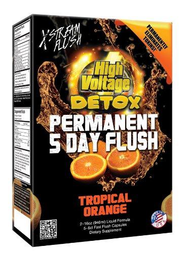 High Voltage Permanent 5 Day Flush - Orange