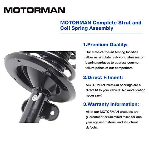 MOTORMAN 4 pc Front Tie Rod End Set for 2002-2004 Nissan Altima 2004-2008 Nissan Maxima