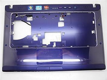Ordenador portátil reposamuñecas para Sony VPCCA morado 95% NUEVO CON arañazos pero no segunda mano