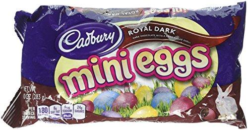 - Cadbury Royal Dark Mini Eggs, 10-Ounce Bag (Pack of 3)