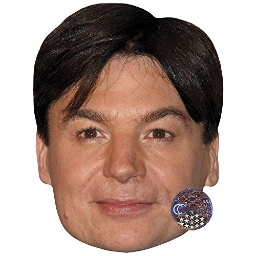 Mike Myers Celebrity Mask, Card Face and Fancy Dress Mask
