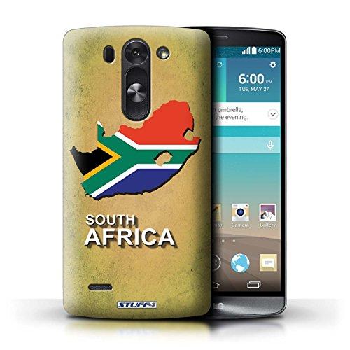Kobalt® Imprimé Etui / Coque pour LG G3 S (Mini)/D722 / Afrique du Sud/Afrique conception / Série Drapeau Pays