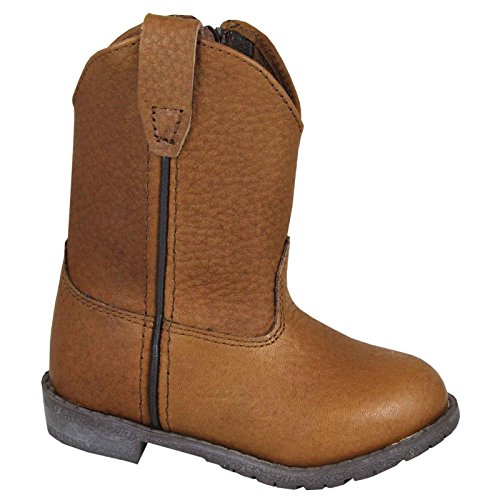 Smoky Mountain Western Boots Boys Jackson 13 Child Brown 2462 (Childrens Crepe Shoes Sole)