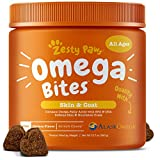 Omega 3 Alaskan Fish Oil Chew Treats for Dogs - With AlaskOmega for...