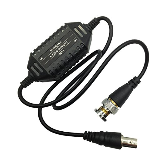 - Saim BNC Male to Female Black Coaxial Video Ground Loop Isolator Balun