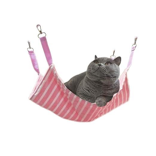 Kanqingqing Árboles para Gatos Jaula Gato Columpio Mascota Gato ...