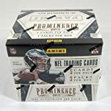 2013 Panini Prominence Football Hobby Box - Panini Certified - Football Cards