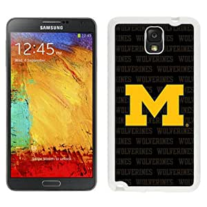 Hot Sale Samsung Galaxy Note 3 Cover Case Big Ten Conference Football Michigan Wolverines 20 Protective Cell Phone Hardshell Cover Case For Samsung Galaxy Note 3 N900A N900V N900P N900T White Unique And Durable Designed Phone Case
