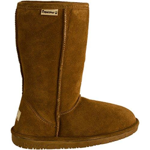 Review BEARPAW Women's Emma 10″ Shearling Boot,8 B(M) US,Hickory 7