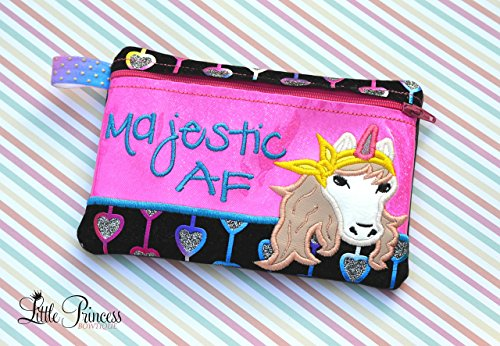 Cosmetic Bag, Toiltery Bag, Horse Bag by Little Princess Bowtique