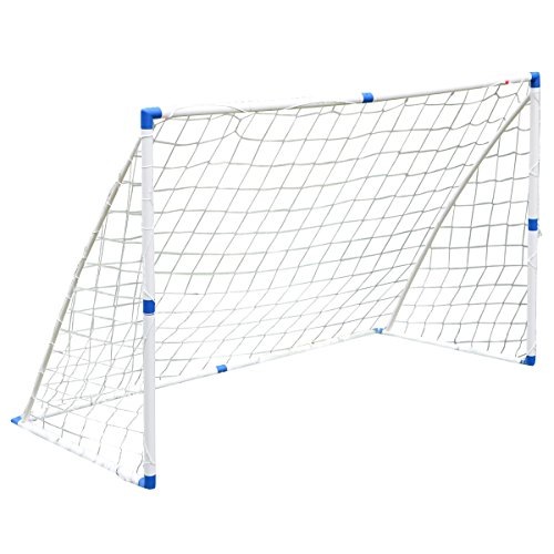 Fußballtor 1,8m x 1,2mHobbyfußballer Outdoor Garten Spielzeug Fußball Kinder mit Fußballnetz