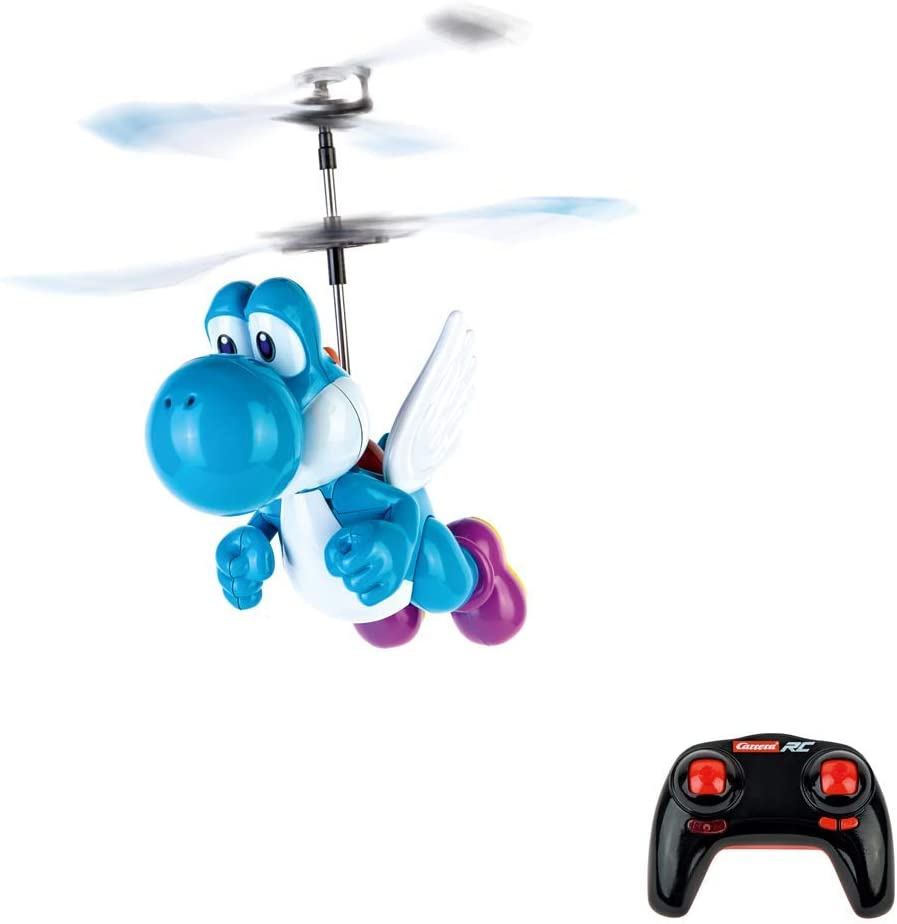 Carrera RC Super Mario Flying Yoshi-Coche teledirigido, Color Azul ...