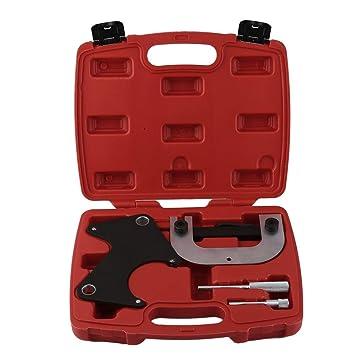 Motor de Einstell Werkzeug Juego de herramientas de sincronización del kit de sincronización de la polea de la polea de la correa en V Juego para Renault: ...