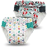 Kanga Care Lil Learnerz Toilet Training Pants, Clyde & Roozy, Large