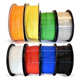 Micro-Mark 3D Printer PLA Filament 1.75mm, 1.65lb each - 8 Pack
