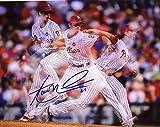 Signed Aaron Nola Picture - Philadelphia Phillies 3d 8x10 - Autographed MLB Photos