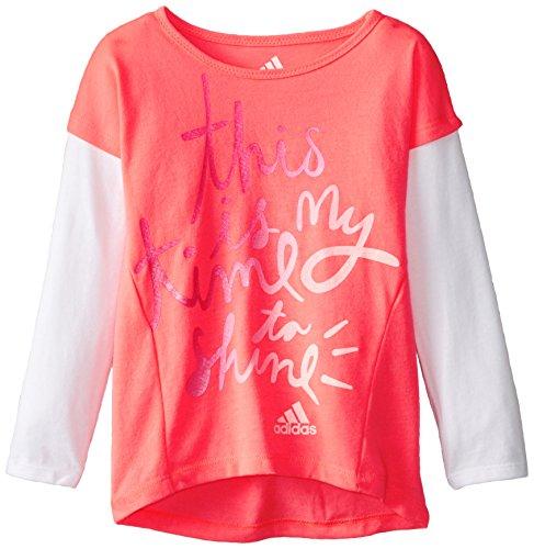 Adidas Girls Sleeve Graphic Shirt product image