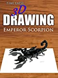Clip: Time Lapse 3D Drawing: Emperor Scorpion