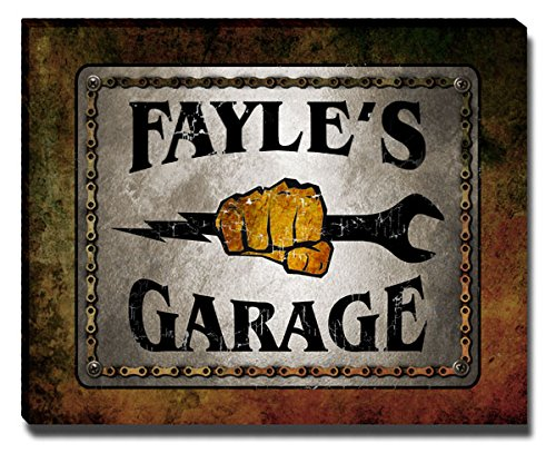 ZuWEE Fayle Family Garage Gallery Wrapped Canvas Print from ZuWEE