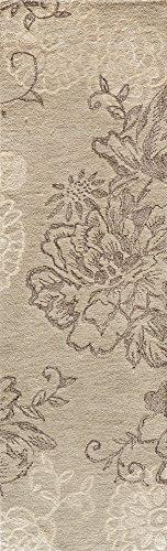 (Momeni Rugs SENSASEN-4LTU2376 Sensations Collection, Wool & Viscose Transitional Area Rug, 2'3