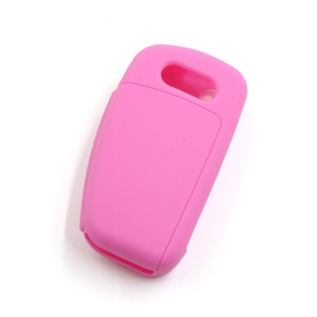 uxcell Pink Silicone Car Remote Flip Key Fob Cover Case for Audi A1 A3 A4L A6L Q7 Q5 Q3 a17052200ux2357