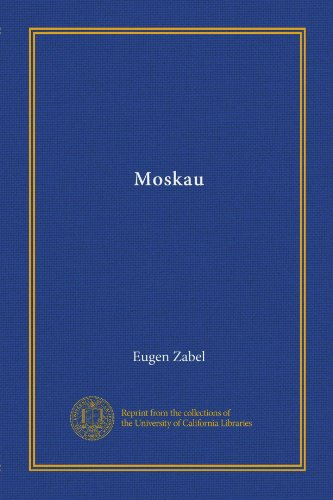 Moskau (German Edition)
