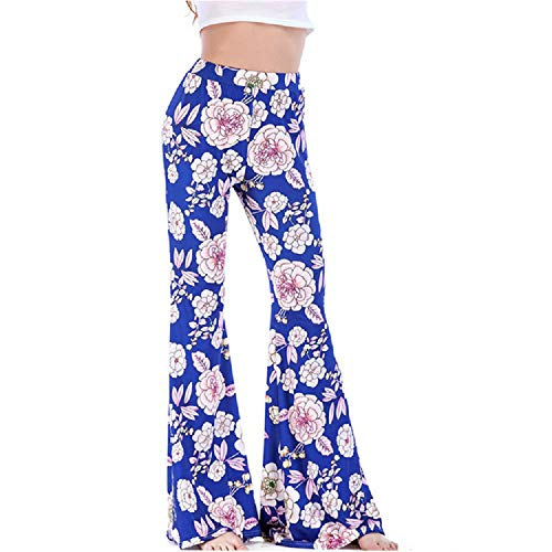 Estivi Taglie Fiorati Larghi Forti FuweiEncore Rosso Donna Blu XL Colore Pantaloni Dimensione qagtxnnUAw