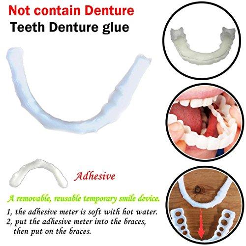 GoodLock Clearance!! Temporary Smile Teeth Denture Glue Comfort Fit Cosmetic (1Pc)