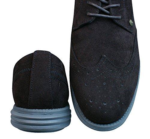 Firetrap Bud Ata para arriba Brogues / zapatos de los hombres Brown