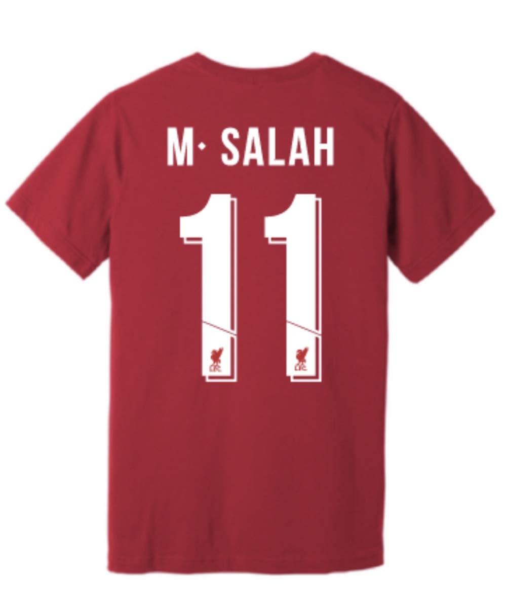 separation shoes f7d37 3eeb5 Anfield Shop Liverpool FC Salah T Shirt