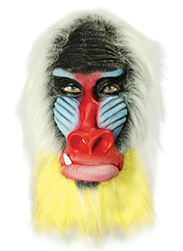 (Bristol Novelty BM333 Baboon Overhead Mask (One)