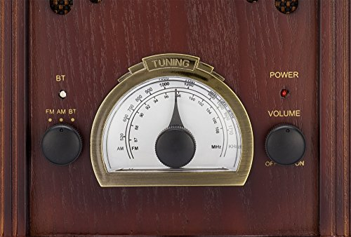Clearclick Retro Am Fm Radio With Bluetooth Classic