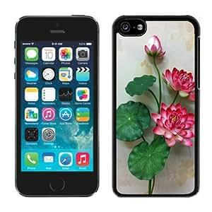 Amazing Customizable Beautiful Flower Floral Design Iphone 5c Case Black Cover