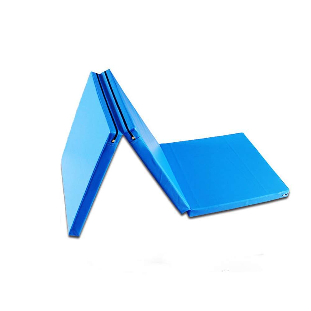 ZJ 体操用マット三重の屋内運動用マット、体操のための5cmの厚い体育館用マット、エアロビクス、ヨガ、格闘技のマット大人 ZJ (色 : : (色 青, サイズ さいず : 60×180×5CM) B07M9ZP341 青 80×180×5CM 80×180×5CM|青, diosbras (ディオブラス):d7b42f83 --- krianta.com