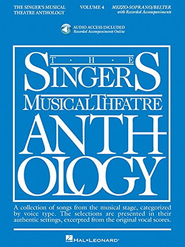 Singer's Musical Theatre Anthology - Volume 4: Mezzo-Soprano Book/Online Audio (Singers Musical Theater Anthology)